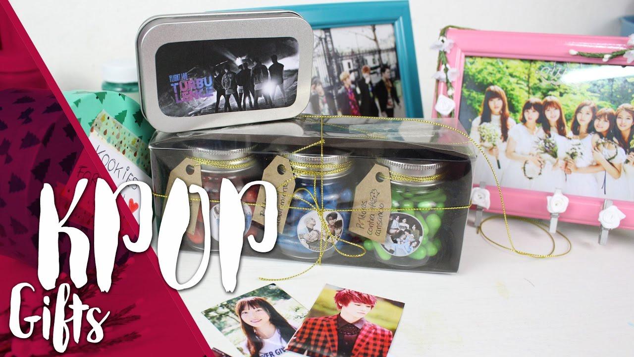 DIY KPOP GIFT |K-freakEnglish| Big bang, BTS, TEEN TOP ...