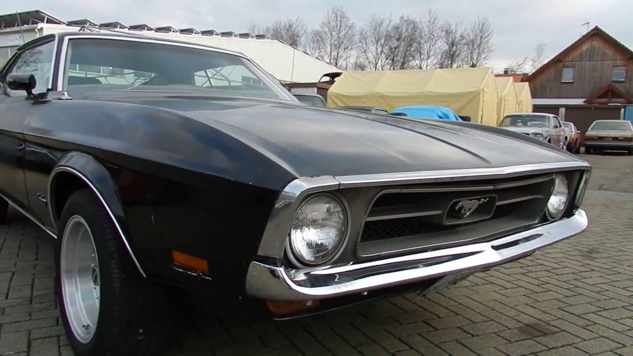 1972 ford mustang sportsroof fastback v8 302 cui 4 gang schaltgetriebe