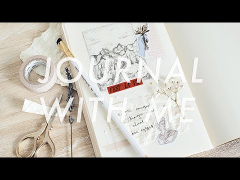 ☆ art journal with me ☆ thumbnail