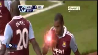 Goal Cantik West Ham United Vs Manchester City   19 Oktober 2013