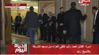بالفيديو.. مراسم عزاء الفنان الراحل أحمد راتب