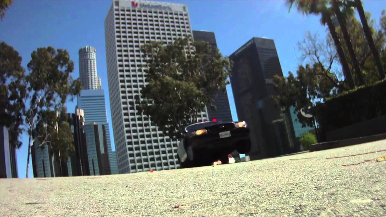 """Download BTS of the opening car chase from Law & Order: LA """"East Pasadena"""""""