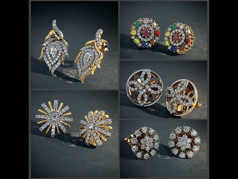 gold stud earrings || LIFESTYLE