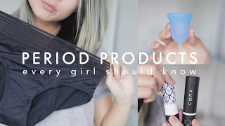 Period Products Every Girl Should Know 🙋🏻 Video