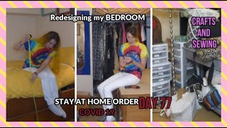 Bedroom Makeover in Day- A day in the life of a 6'2 woman