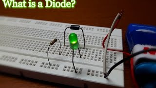 """What is a """"Diode""""❓ DIY:- """"Simple Diode Circuit.""""✔"""