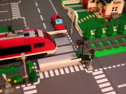 7937 LEGO Train Station - Time Lapse & Stop Motion