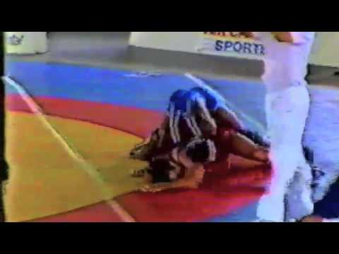 1988 Canada Cup: 82 kg Final Chris Rinke (CAN) vs. Booker Benford (USA)