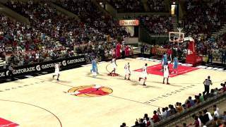 Amazing shot on NBA 2K11 MY PLAYER 1920x1080