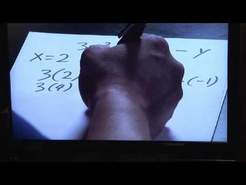 Basic Mathematics & Algebra : Substituting Values Into an Algebraic Expression