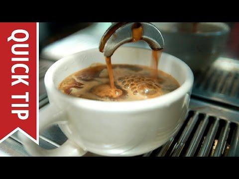 Quick Tip: Defining Espresso Drinks