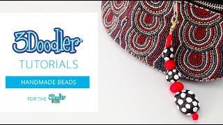 3D Pen Tutorial | Doodle Designer Beads with the 3Doodler