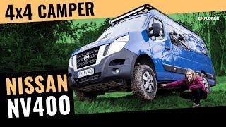 Probefahrt mit dem großen Unbekannten – Nissan NV400 4x4 Camper [2019]