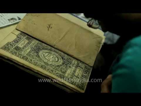 Collection of ancient books at Hazrat Shah Waliullah Public Library