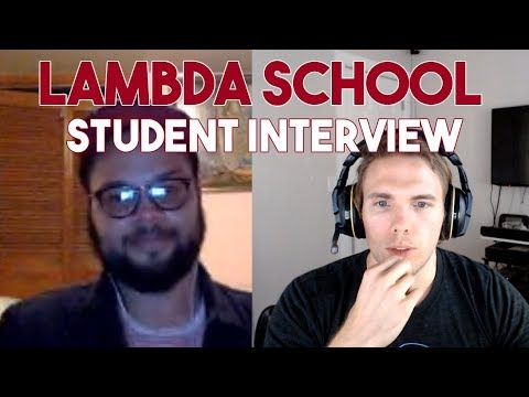 Interviewing a Lambda School Student - His Thoughts on the program