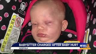 Norfolk babysitter arrested after alleged assault on 5-month-old
