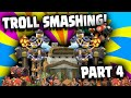 Clash of Clans - Trolls bases and Giants DONT MIX!