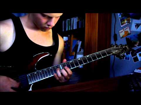 Soilwork - Song Of The Damned Solo (Guitar Cover)