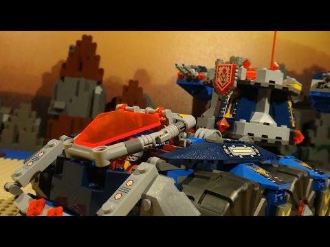 LEGO NEXO KNIGHTS - AXL'S TOWER CARRIER V'S GENERAL MAGMAR'S SIEGE MACHINE OF DOOM