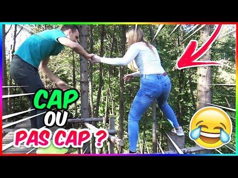 CAP OU PAS CAP DANS UNE FORÊT ! (EN COUPLE)