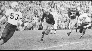 1952 Rose Bowl   Illinois vs  Stanford