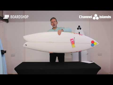Channel Islands Fish Beard Surfboard Review