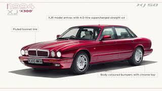Jaguar USA | Celebrating 50 years of the XJ