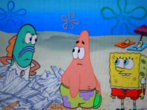 Spongebob - Sand Wars Clip (HQ)