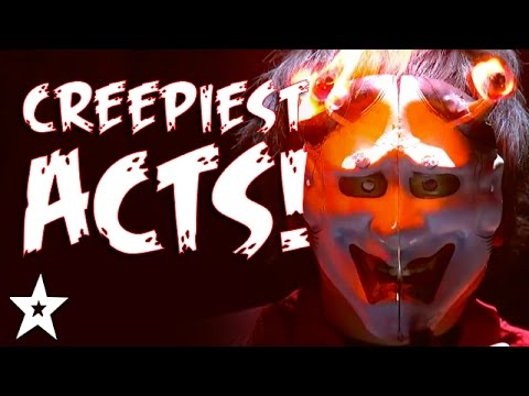 Thumbnail: CREEPIEST Got Talent Acts EVER! | HALLOWEEN'S GOT TALENT!