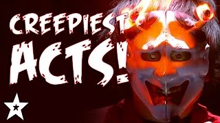 CREEPIEST Got Talent Acts EVER! | HALLOWEEN'S GOT TALENT!