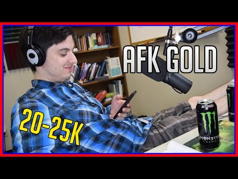 AFK Goldmaking   25,000 per Hr w/One Button   WoW Gold Guide