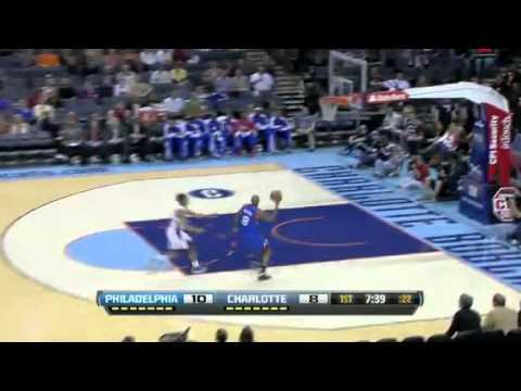 Charlotte Bobcats vs Philadelphia 76ers // 03.04.13 First Half Highlights // NBA Highlights 2013