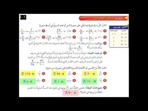 كتاب نشاط رياضيات سادس الفصل الثاني