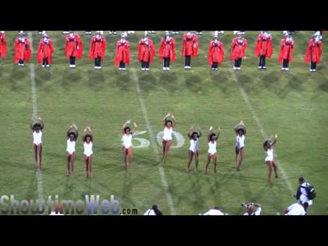 Winston Salem Marching Band WSSU Fieldshow - 2016 Queen City BOTB