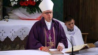 Homilia biskupa Janusza Stepnowskiego podczas pogrzebu pi�ciu �o�nierzy Wykl�tych w Ostro��ce