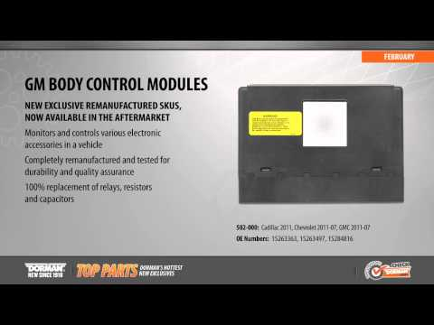 Highlighted Part: Body Control Module for Select Cadillac