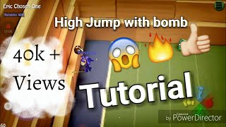 BombSquad High Jump With bomb Trick 2 types Tutorial