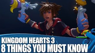 Kingdom Hearts 3: 8 Things You Need To Know