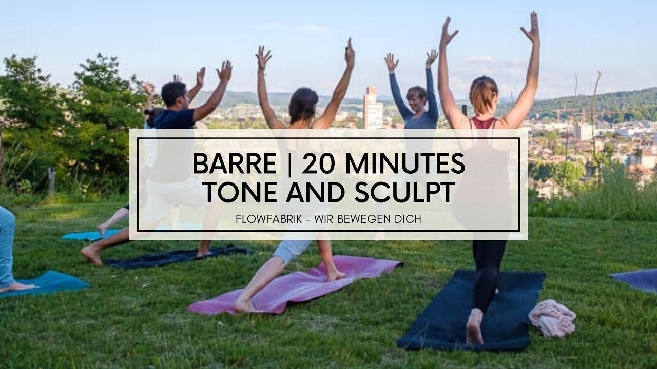 VIDEO: BARRE   TONE & SCULPT   20 minutes