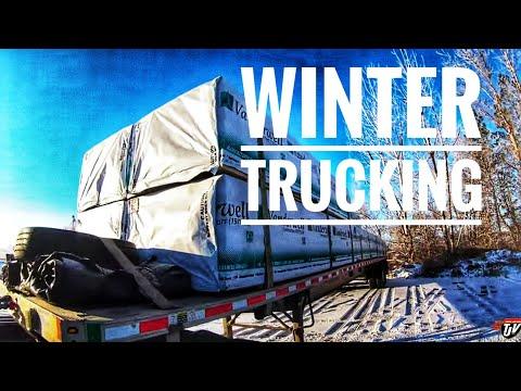 My Trucking Life | WINTER TRUCKING ❄️🚛💨 | #1843