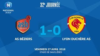 AS Beziers vs Lyon la Duchère full match