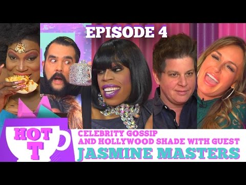 JASMINE MASTERS on HOT T! Celebrity Gossip and Hollywood Shade! Season 3 Episode 4