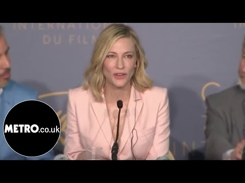 Cate Blanchett shuts down sexist reporter at Cannes  Metro.co.uk