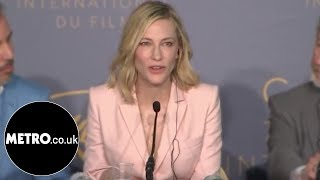 Cate Blanchett shuts down sexist reporter at Cannes | Metro.co.uk