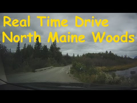 Real Time Drive - North Maine Woods