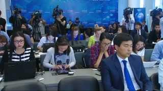 Пресс-конференция на тему «О ситуации на рынке ГСМ»