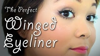 The Perfect Winged Eyeliner | Makeup Tips | Lazy Girls' Guide To Beauty