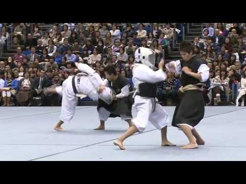 「少林寺拳法」日体大公式映像 第51回体育研究発表実演会