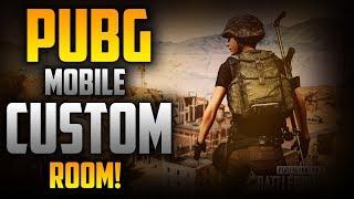 PUBG Mobile🔴 Live Stream Custom Room & War Mode