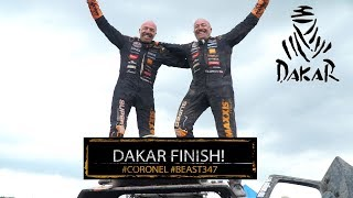 Dakar 2018: The Beast with twins finishes! Tim and Tom Corone reach...
